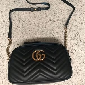 Gucci Black Crossbody Designer Bag